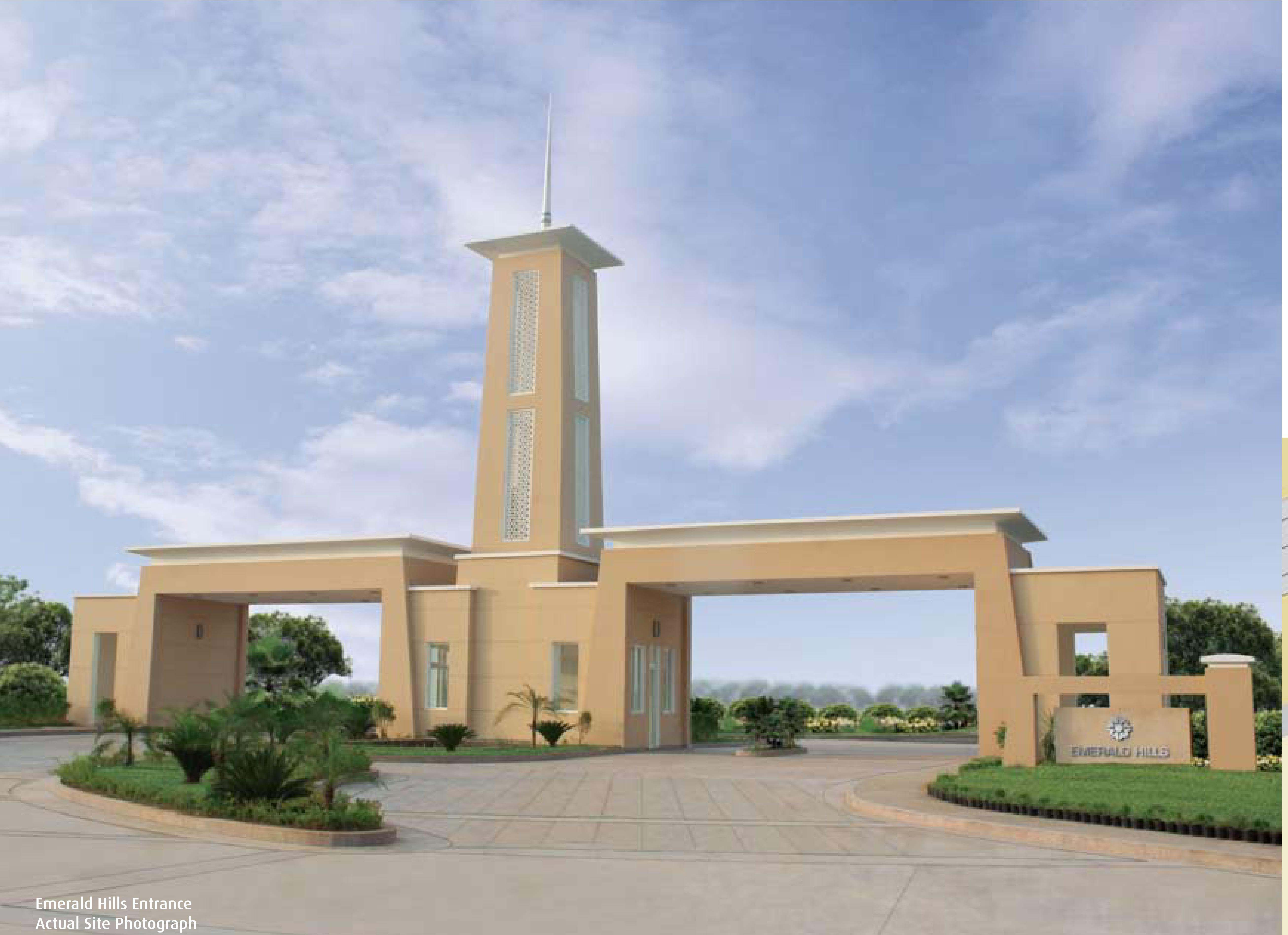 Residential Plot in gated complex.