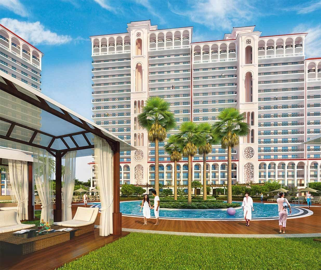 The Skycourt front view